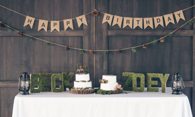 Woodland Birthday Party Theme