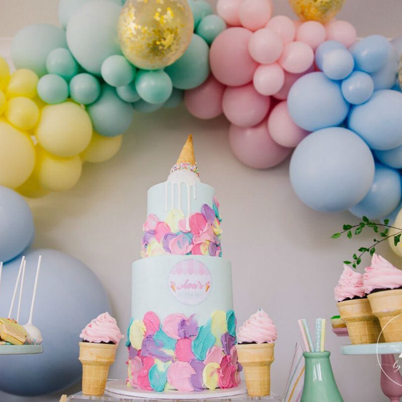 Birthday Cake Ideas Ice Cream