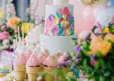 Ice Cream Birthday Party - birthday cake
