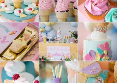 Ice Cream Birthday Party - sweets