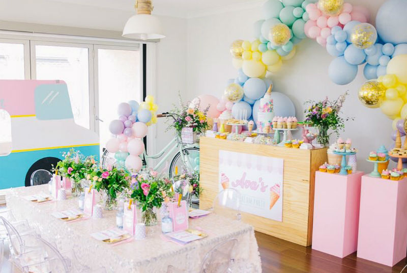Ice Cream Birthday Party for Ava