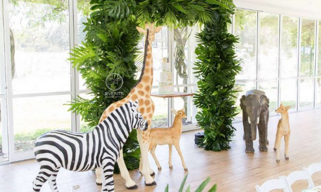 Jungle Birthday Party Theme for Leo