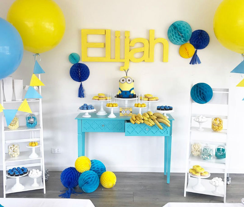 Minion Birthday Party Decorations