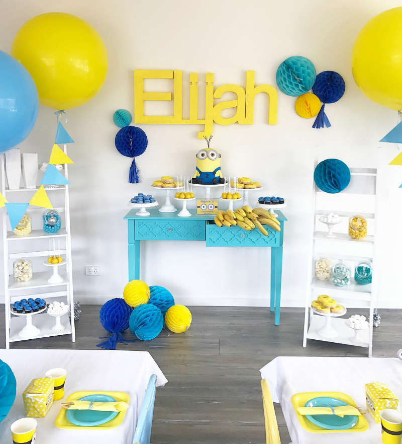 Minion Birthday Party Overview