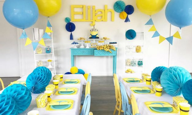 Minion Birthday Party Theme