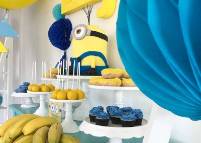 Minion Birthday Party side view