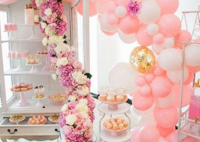 Parisian Hight Tea Birthday Party - decorations