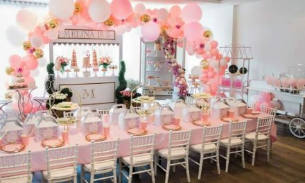 Parisian High Tea Birthday Party