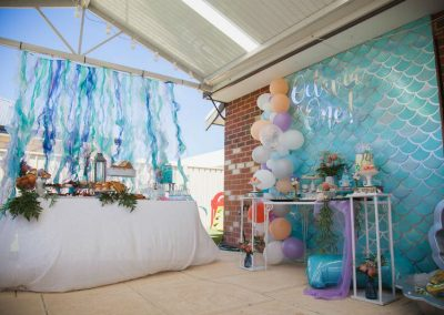 Under the Sea Magic Birthday Party - party overview