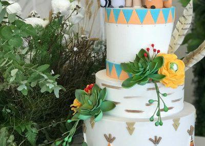 Wild One Birthday Party for Ragna - birthday cake