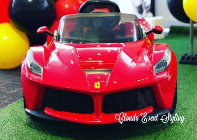 Car Racing First Birthday - car