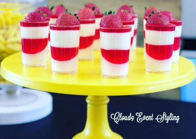 Car Racing First Birthday - desserts