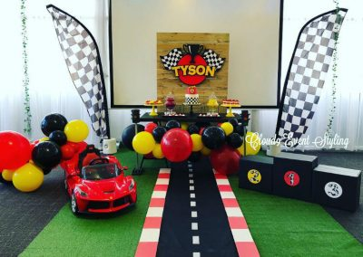 Car Racing First Birthday - feature