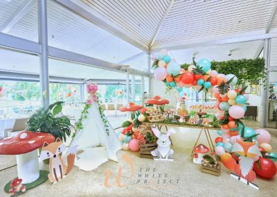 Garden Wonderland Birthday Party - feature