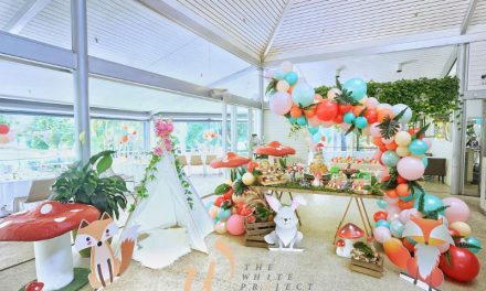 Garden Wonderland First Birthday Party