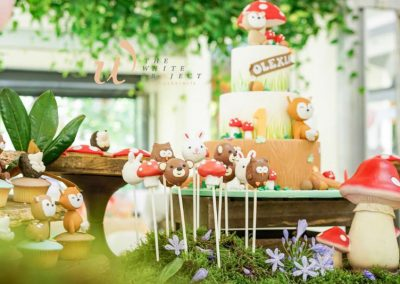 Garden Wonderland Birthday Party - sweets