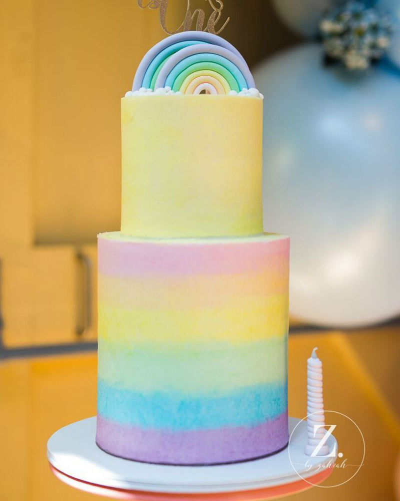 Somewhere Over The Rainbow First Birthday Party Kids Party Time