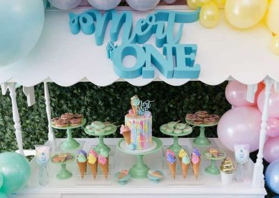 Ice-Cream Dreams Birthday Party - Party Decorations