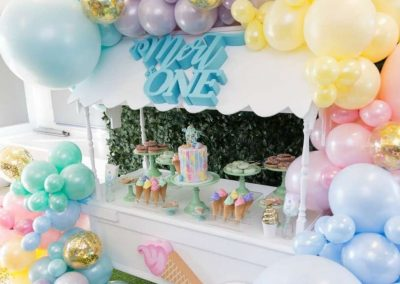 Ice-Cream Dreams Birthday Party - Sweets