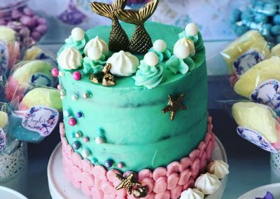 Mermaid Birthday Party - Birthday Cake