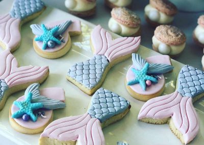 Mermaid Birthday Party - Cookies