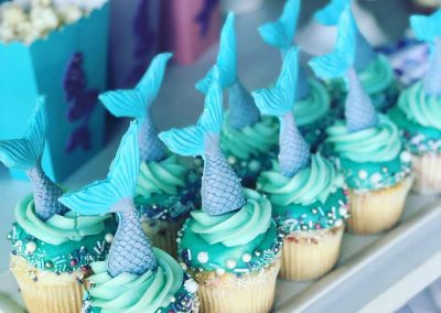 Mermaid Birthday Party - Cupcakes