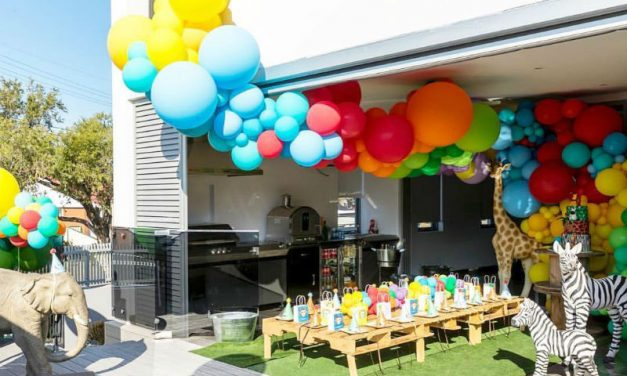 Animal Jungle First Birthday Party