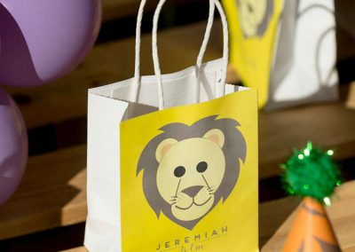Animal Jungle Birthday Party - Gift Bags