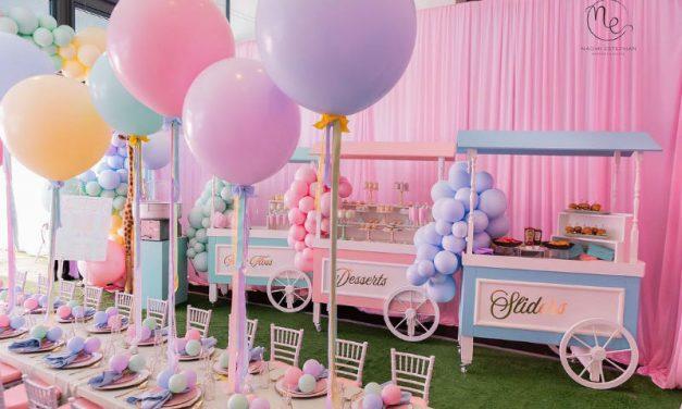 Carnival Affair Birthday Party