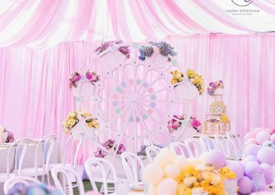 Carnival Fair Birthday Party Decorations