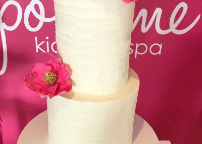 Girls Spa Party - Sweet Sienna Event Styling - Birthday Cake