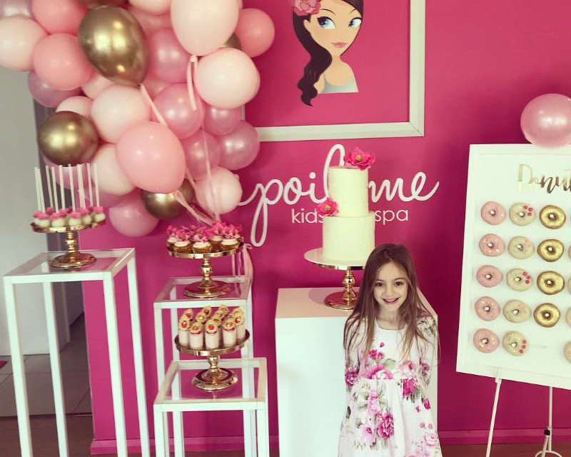 Girls Day Spa Birthday Party