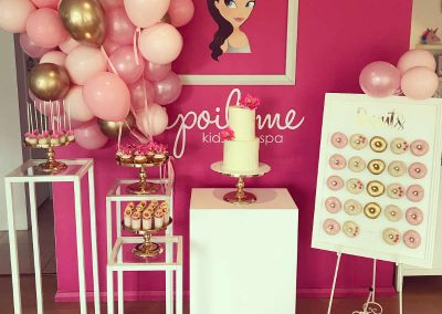 Girls Spa Party - Sweet Sienna Event Styling