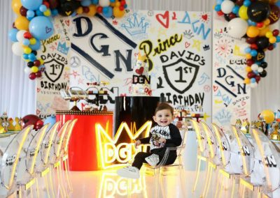 Graffiti First Birthday Party