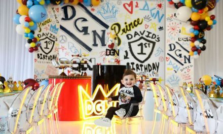 D & G Graffiti Inspired First Birthday Party
