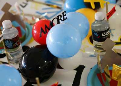 Graffiti First Birthday Party