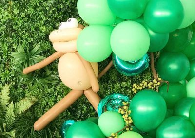 Jungle Birthday Party - Blushing Events - Balloons