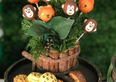Jungle Birthday Party - Blushing Events - Cakes