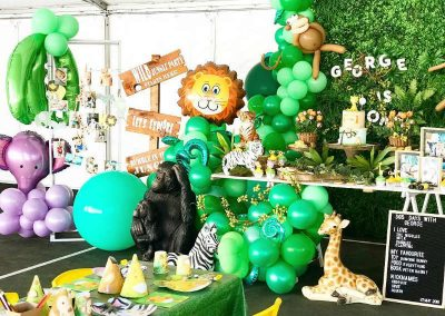 Jungle Birthday Party - Blushing Events - Featured