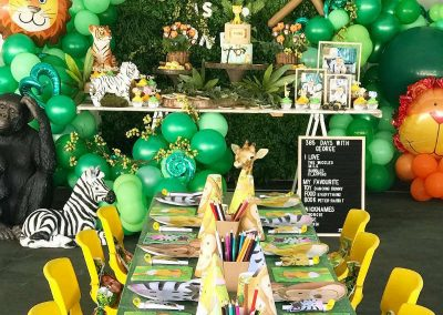 Jungle Birthday Party - Blushing Events