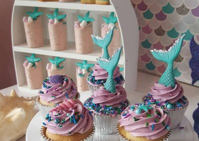 Mermaid Birthday Party - Sorella Event Styling - Treats