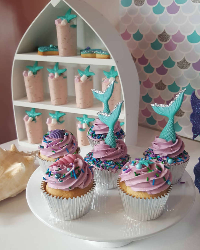 Mermaid First Birthday Party