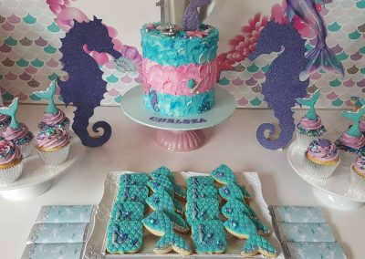 Mermaid Birthday Party - Sorella Event Styling - Cookies