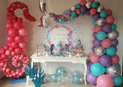 Mermaid Birthday Party - Sorella Event Styling - Featured