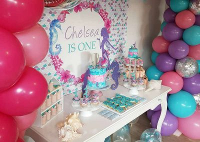 Mermaid Birthday Party - Sorella Event Styling