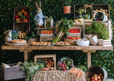 Peter Rabbit First Birthday Party - Farmers Market