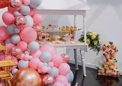 Pink First Birthday Party - Feature