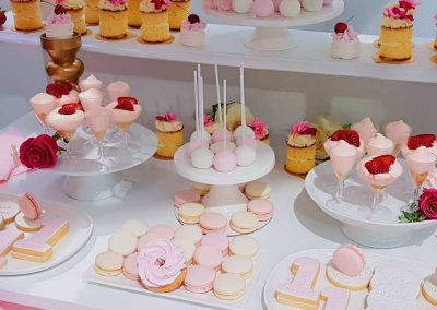 Pink First Birthday Party - Sweets
