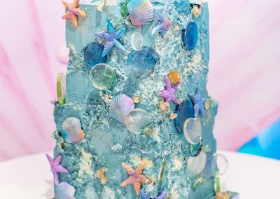 Under the Sea Magical Birthday Party - Cake
