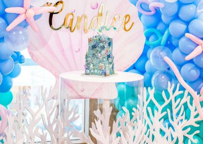 Under the Sea Magical Birthday Party -Overview
